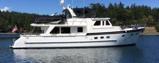 64′ Grand Alaskan Raised Pilot House Motoryacht PRICE JUST REDUCED